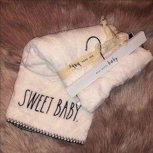 RAE DUNN  |  SWEET BABY Blanket